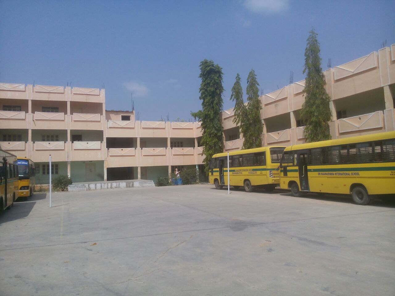 Front View of College